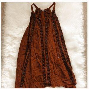Women's American eagle Aztec print dress
